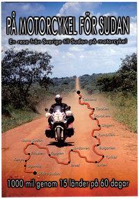 På motorcykel för Sudan