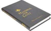 Handbok för livet - NT konstskinn, grå